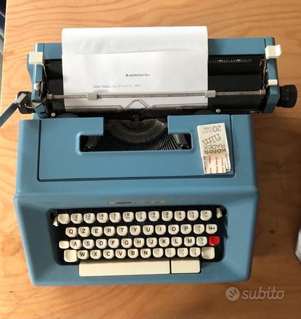 Macchina x scrivere vintage
