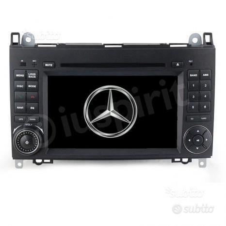 GPS 2DIN autoradio Mercedes classe W169 W245 W639