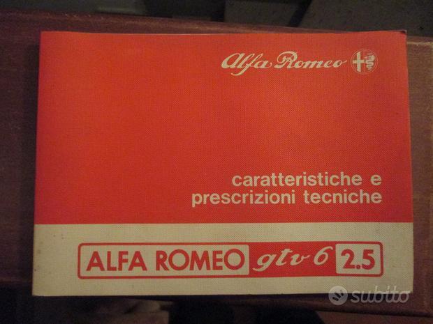 Manutenzione Alfa Romeo GTV6 2.5