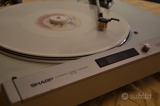 Sharp Optonica RP-30 Piatto Automatico Tz Diretta