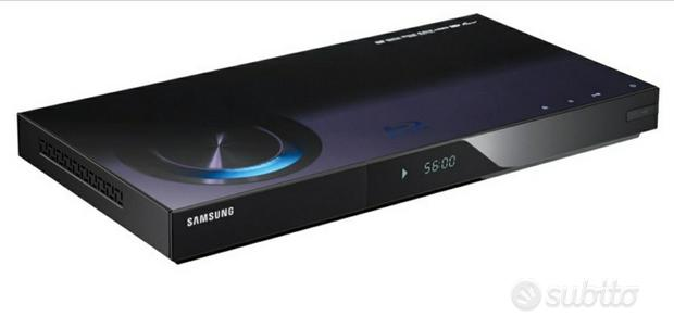 Lettore Blu-ray Samsung WiFi, 3D, USB, HDMI, DVD