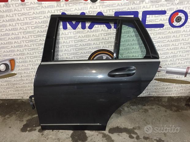 Porta posteriore sinistra mercedes classe c w204