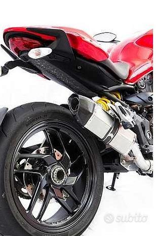 Projsix Titanium Roadsitalia Ducati Monster 821