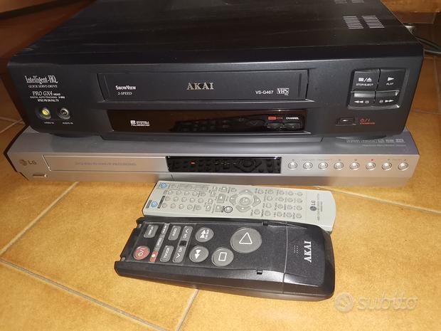 Kit per VHS a DVD Mpg hd 80Gb conversione