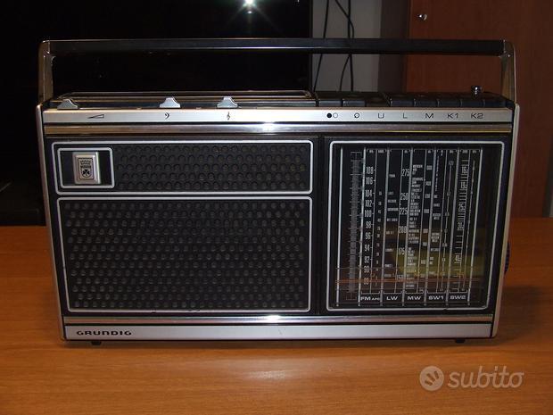 Grundig radio e registratori portatili