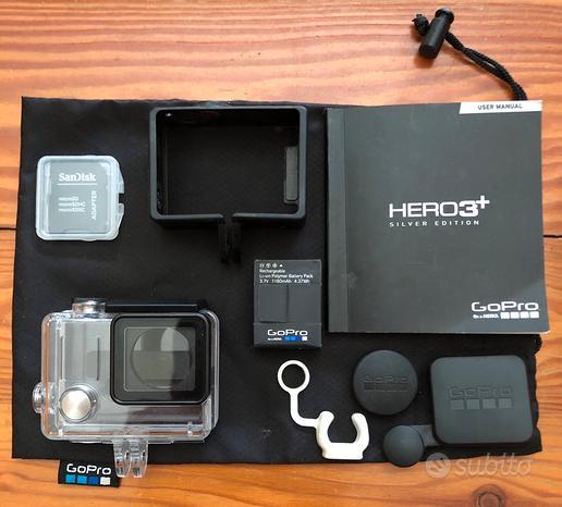 Ricambi GoPro Hero 3+ Silver edition