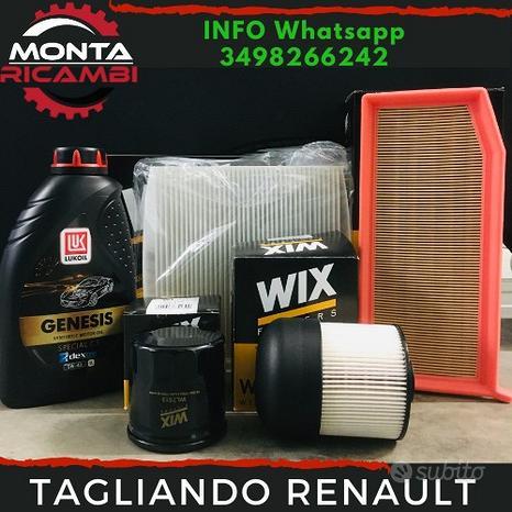 Kit Tagliando Completo CLIO IV 1.5 dCi + OLIO 5w40