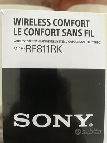 Cuffie Sony MDR-RF811RK Cuffie wireless RF