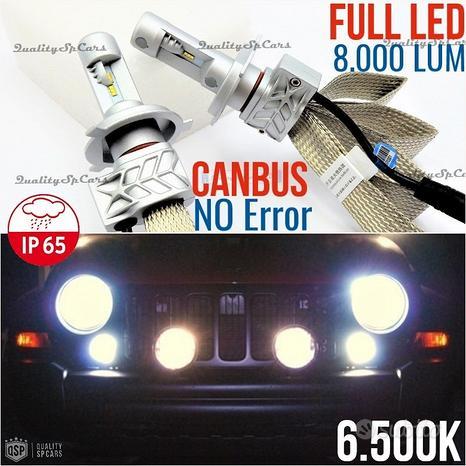 Kit Lampade FULL LED H4 PER Jeep Cherokee KJ 6500K