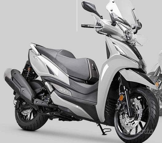 Kymco AGILITY 300 ABS - grigio dossena