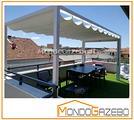 Pergola 3x4 tettoia fissa 4x3 veranda pompeiana