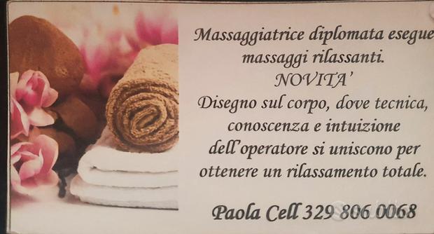 Massaggiatrice Professionale