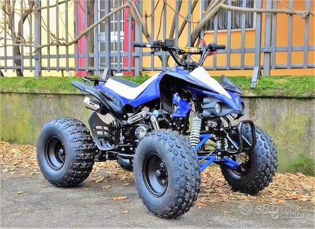 Nuovo quad tox 125 r8 maxi blu