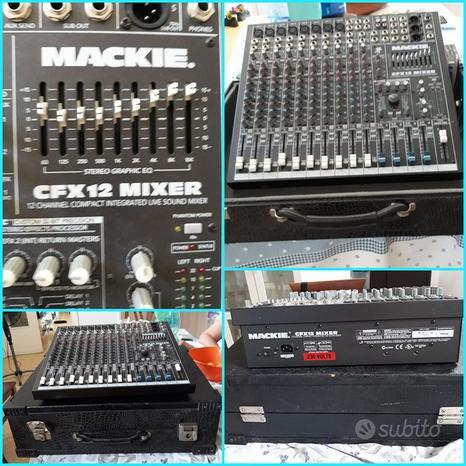 Mixer mackie cfx12 mixer a 12 canali
