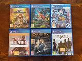 Giochi per Playstation 4 e Xbox one