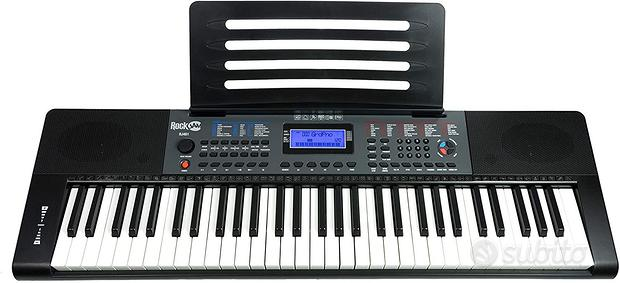 Tastiera elettrica 61 Tasti NUOVA, Pianoforte