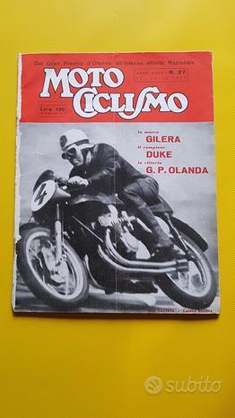 MOTOCICLISMO Rivista fascicolo n. 27 1953