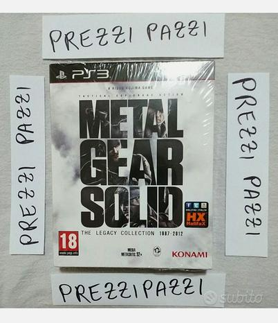 Metal Gear Solid The Legacy Collection PS3 PAL