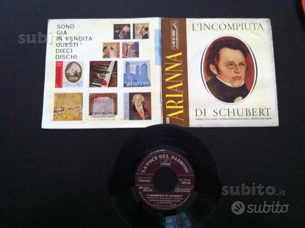 Dischi 45 giri musica Classica rari 1960/61