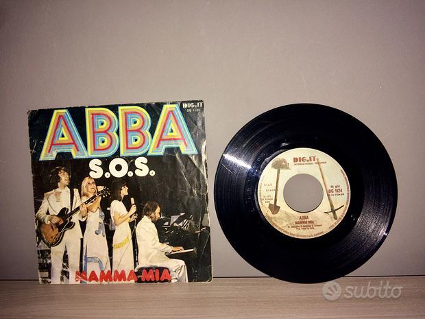 Vinile 45 giri ABBA S.O.S MAMMA MIA