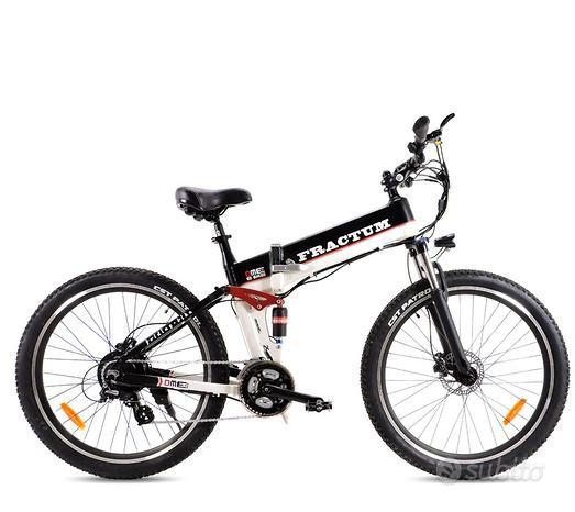Bici elettrica senza busta paga DME Fractum