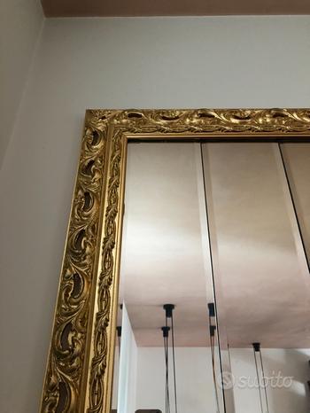 Specchio dorato grande