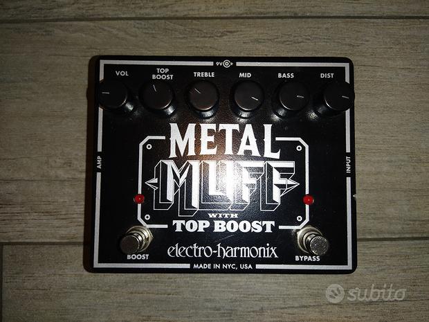 Electro Harmonix METAL MUFF con BOOSTER