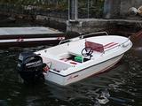 Barca open a motore