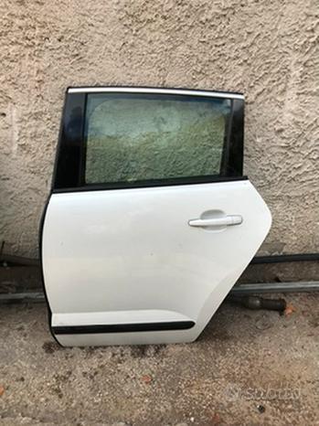 Portiera sportello posteriore sx Peugeot 3008