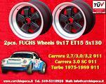 Cerchi 9x17 Porsche 911 Carrera SC RS Fuchs