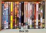 (Box 35 - 36) film dvd ex-noleggio