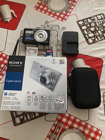 Fotocamera Sony Cyber-Shot DSC-W320