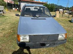 Fiat Uno 45 targhe nere