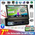 "Autoradio 1din 7"" Touch Screen Bluetooth USB SD"