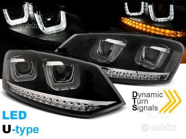 Fari anteriori VW POLO 6R 6C LED FRECCIA DINAMICA
