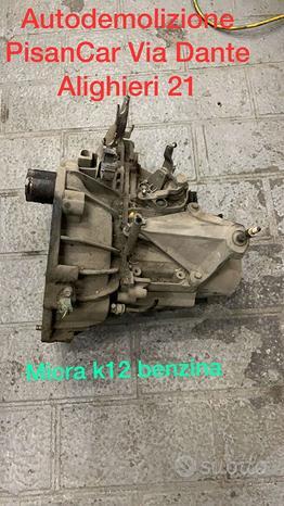 Cambio nissan micra k12 benzina