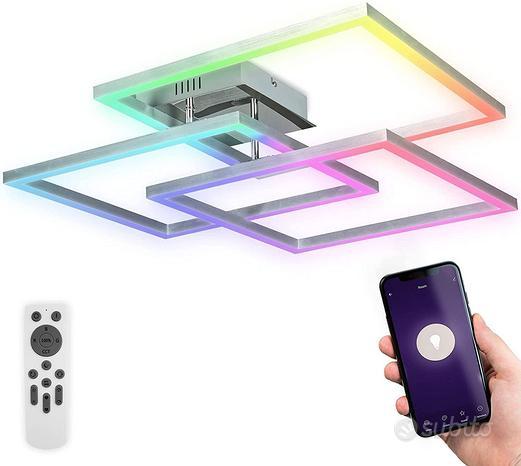 B.K.Licht - Plafoniera LED Smart WiFi con App