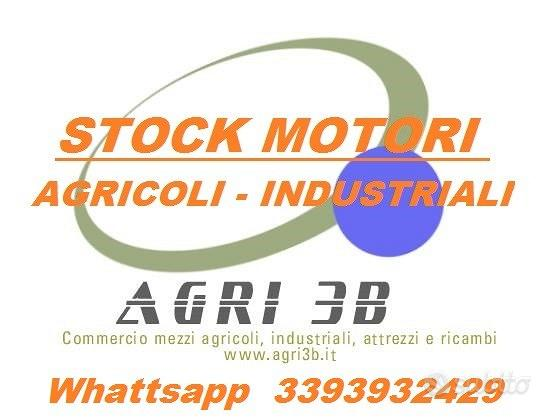 Motori in stock, agricoli - industriali