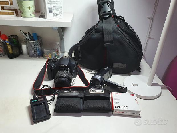 Canon eos 1200d (con accessori) Sony HDR-CX405