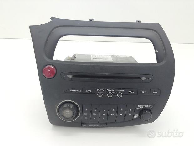 39100-SMG-G014-M1 AUTORADIO HONDA Civic Berlina 5P