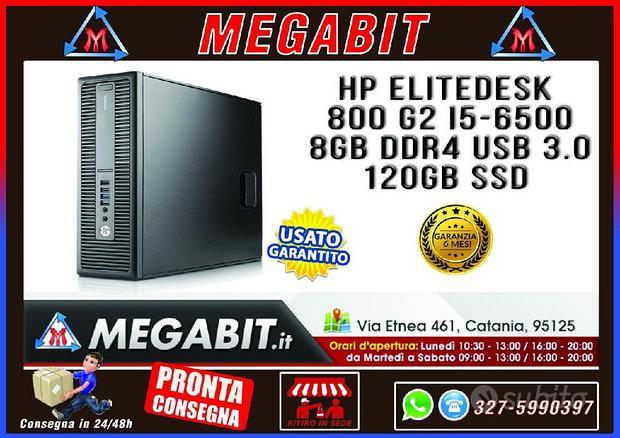 PC HP ELITEDESK 800 G2 i5 8Gb DDR4 120GB SSD