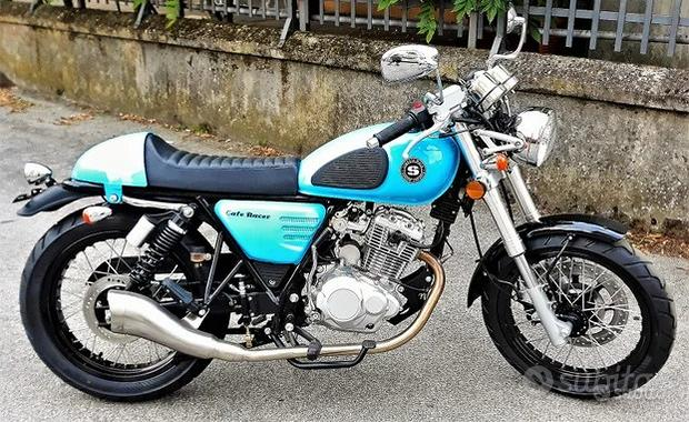 NEW Somoto 125 CAFE' RACER Azzurra