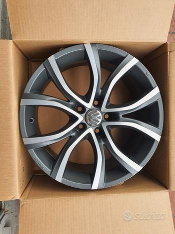 Cerchi Nuovi 18 Volkswagen Golf 5 6 7 8 Plus T Roc