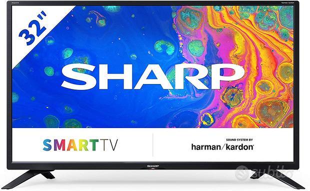 "Televisore sharp tv led 32"" smart tv 32bc4e"