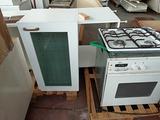Cucina componibile in laminato bianco