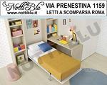 Letto a Scomparsa Singolo VE157 Via PRENESTINA