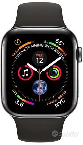 Apple Watch Serie 4 44mm Black Acciaio 4g Gps