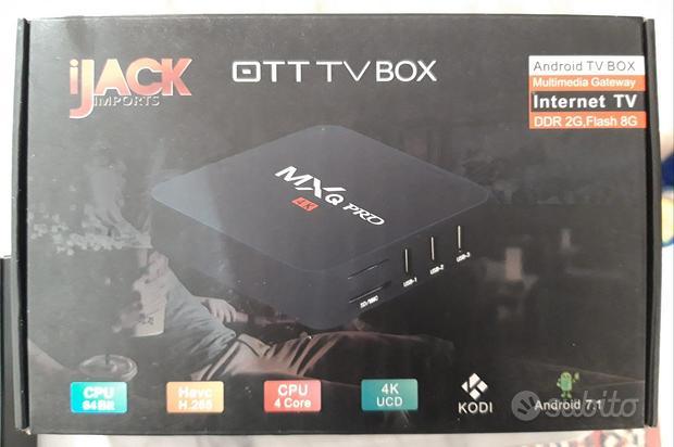 Android Tv Box Internet MXQ Pro 4K HDMI USB NUOVO