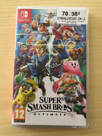 Super smash bros ultimate per Nintendo switch