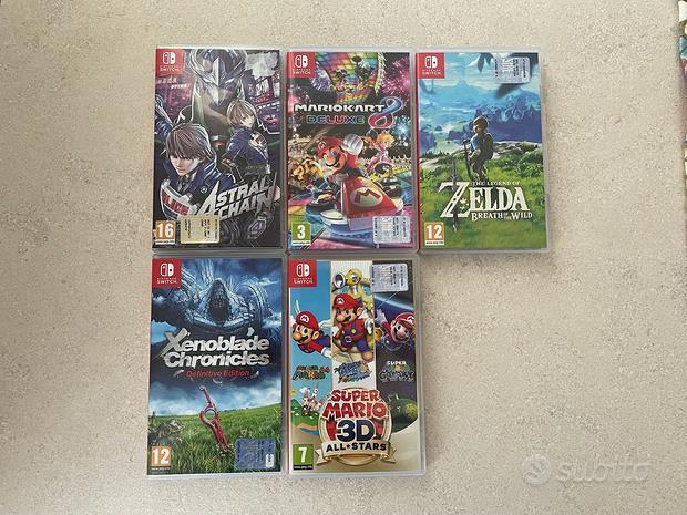 Videogiochi originali Nintendo Switch